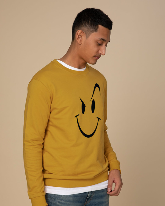 Shop Wink New Fleece Light Sweatshirt-Back