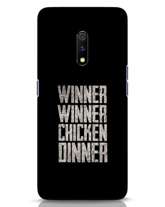 Shop Winner Winner Realme X Mobile Cover-Front
