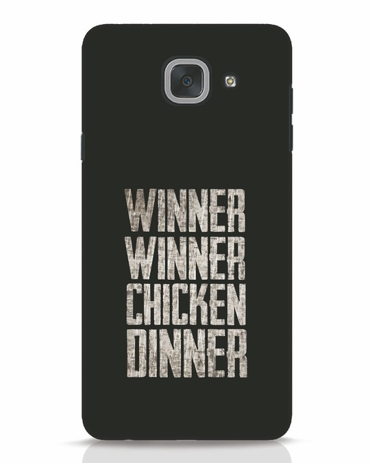 Shop Winner Winner Samsung Galaxy J7 Max Mobile Cover-Front