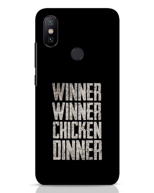 Shop Winner Winner Xiaomi Mi A2 Mobile Cover-Front