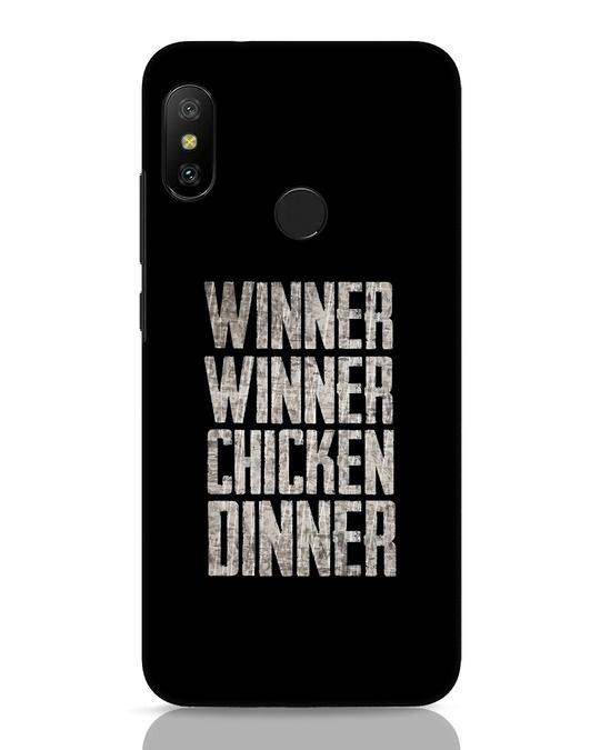 Shop Winner Winner Xiaomi Redmi 6 Pro Mobile Cover-Front