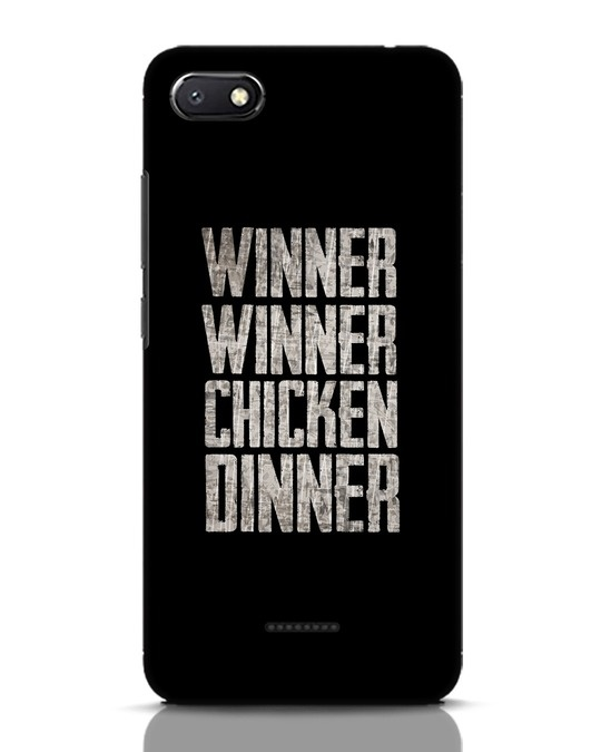Shop Winner Winner Xiaomi Redmi 6A Mobile Cover-Front