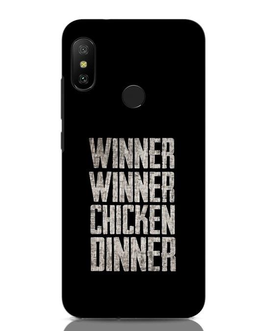 Shop Winner Winner Xiaomi Redmi Note 6 Pro Mobile Cover-Front