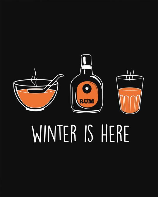 Shop Winter Drinks Fleece Sweater-Full