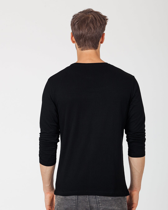 Shop Winter Drinks Full Sleeve T-Shirt-Back
