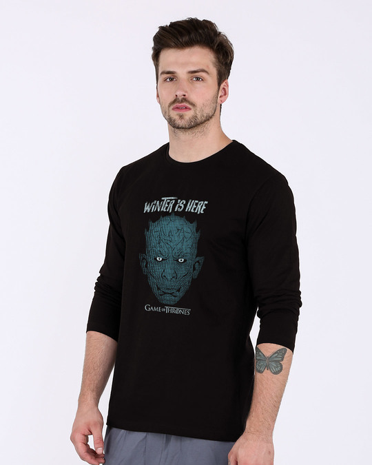 Shop Winter In Winterfell Full Sleeve T-Shirt (GTL)-Back
