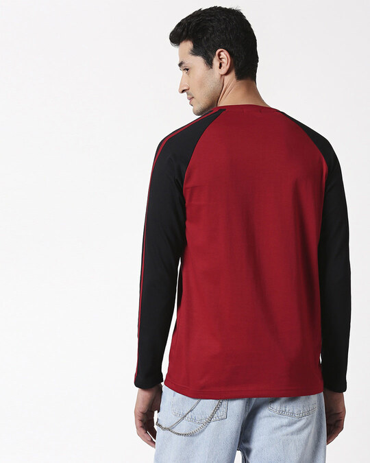 Shop Winter Staycation Full Sleeves Raglan T-Shirt-Back