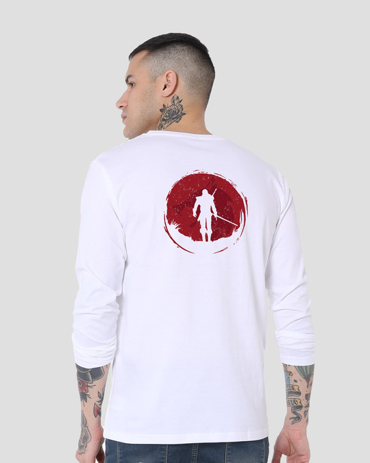 Shop Witcher Of Rivia Full Sleeve T-Shirt-Design