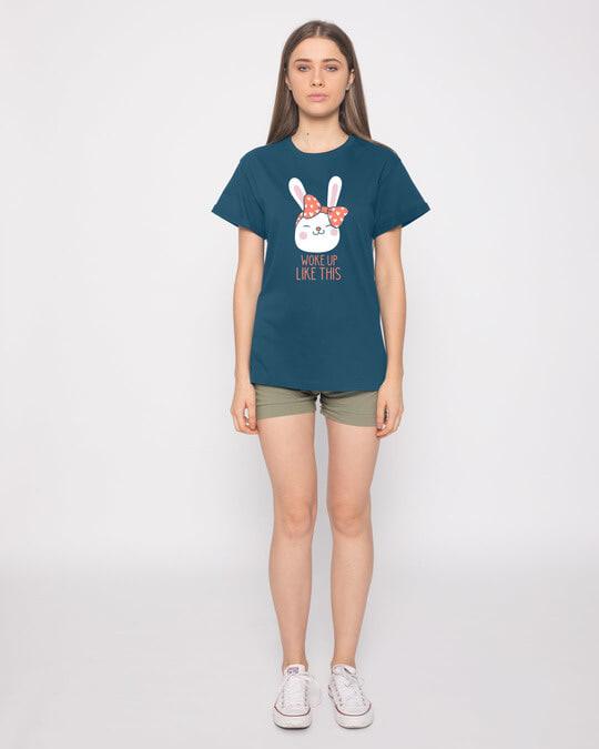 Shop Woke Up Like This Boyfriend T-Shirt