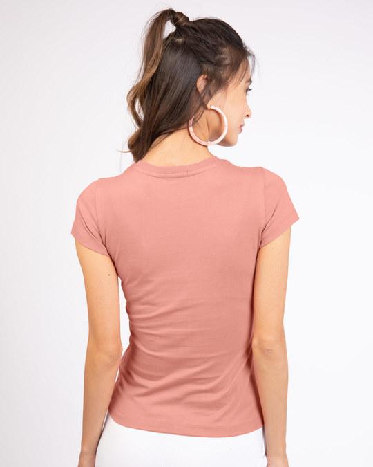 Shop Woke Up This Cute Half Sleeve T-Shirt (TJL)-Design