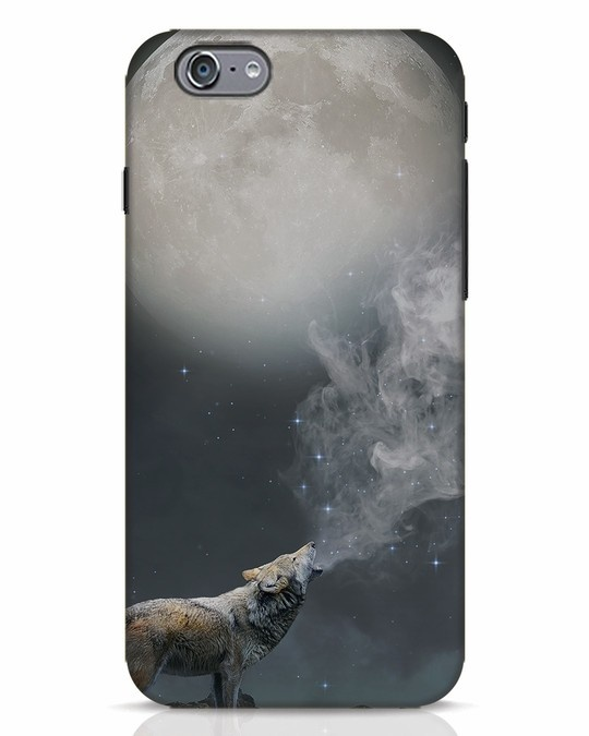 Shop Wolf Moon iPhone 6s Mobile Cover-Front