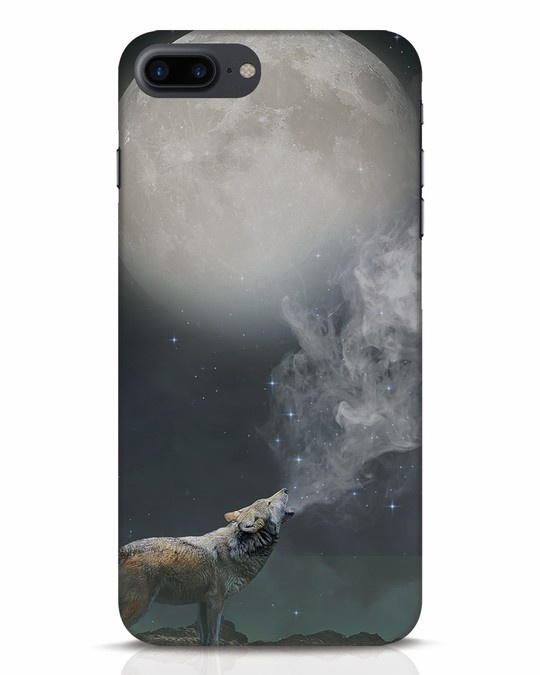 Shop Wolf Moon iPhone 7 Plus Mobile Cover-Front