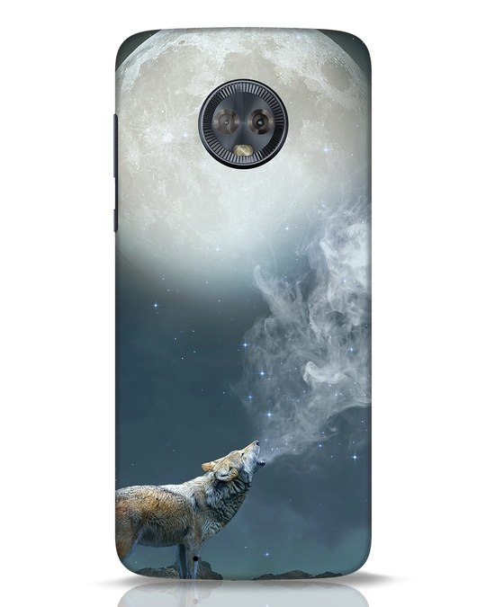 Shop Wolf Moon Moto G6 Mobile Cover-Front