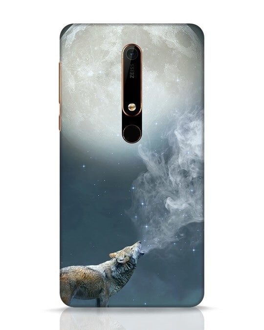 Shop Wolf Moon Nokia 6.1 Mobile Cover-Front
