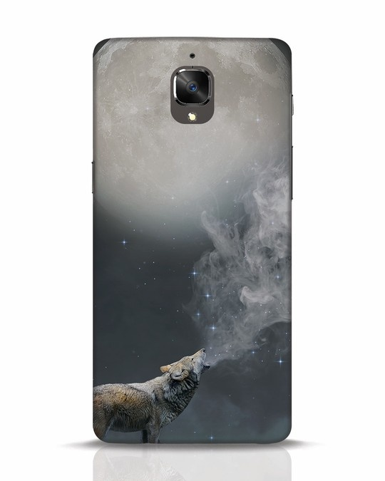 Shop Wolf Moon OnePlus 3T Mobile Cover-Front