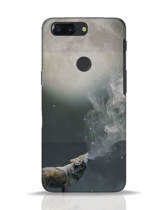 Shop Wolf Moon OnePlus 5T Mobile Cover-Front