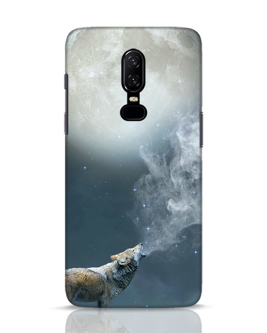 Shop Wolf Moon OnePlus 6 Mobile Cover-Front