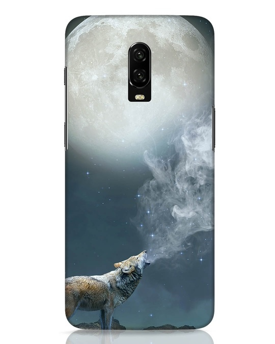 Shop Wolf Moon OnePlus 6T Mobile Cover-Front
