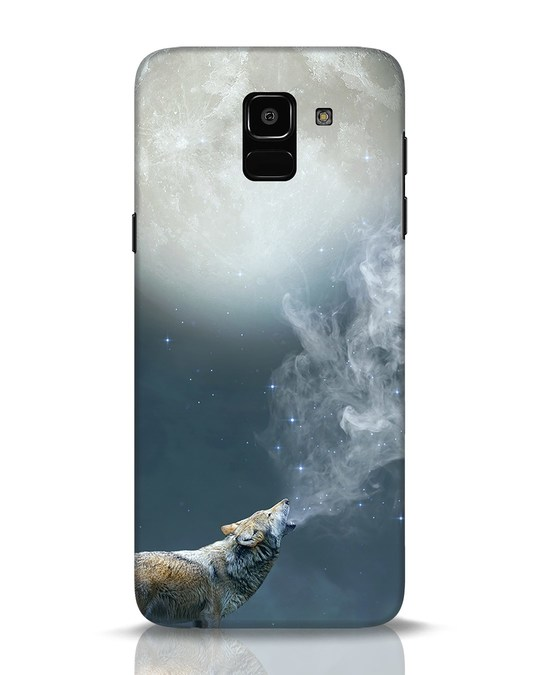 Shop Wolf Moon Samsung Galaxy J6 Mobile Cover-Front