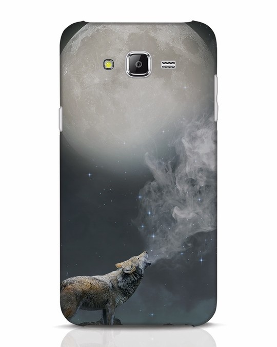 Shop Wolf Moon Samsung Galaxy J7 Mobile Cover-Front