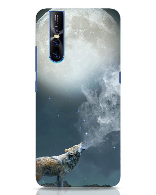 Shop Wolf Moon Vivo V15 Pro Mobile Cover-Front