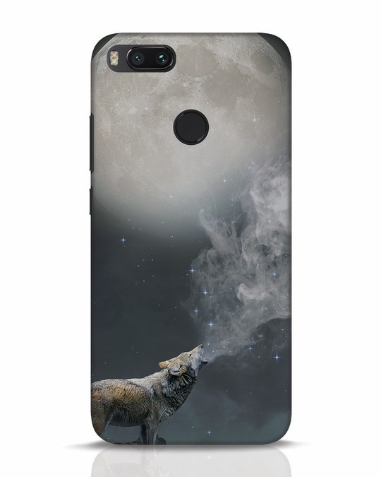 Shop Wolf Moon Xiaomi Mi A1 Mobile Cover-Front