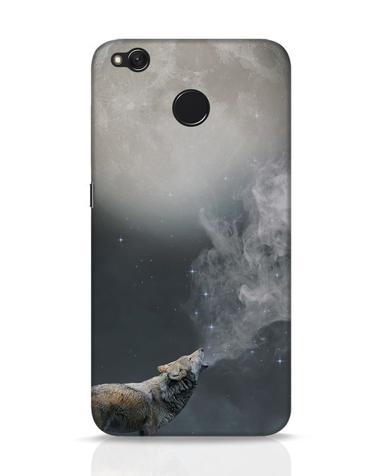 Shop Wolf Moon Xiaomi Redmi 4 Mobile Cover-Front