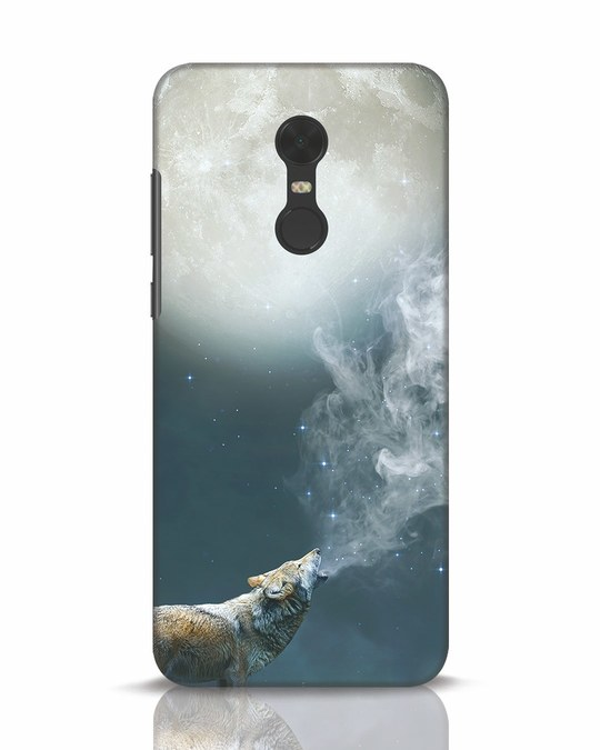 Shop Wolf Moon Xiaomi Redmi Note 5 Mobile Cover-Front
