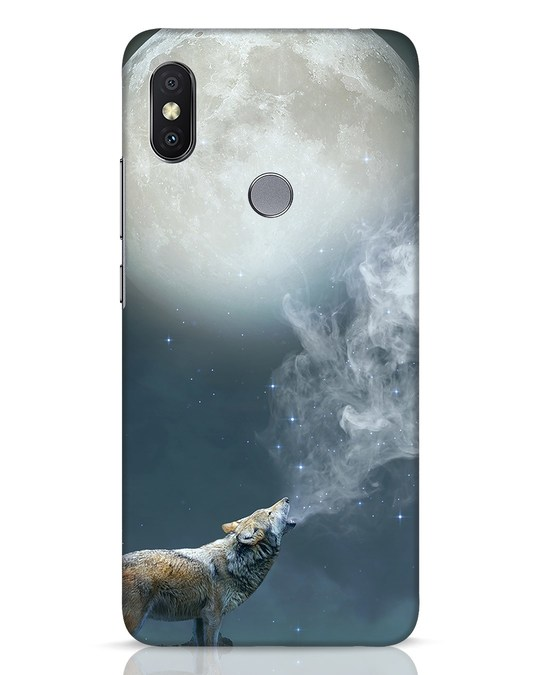 Shop Wolf Moon Xiaomi Redmi Y2 Mobile Cover-Front