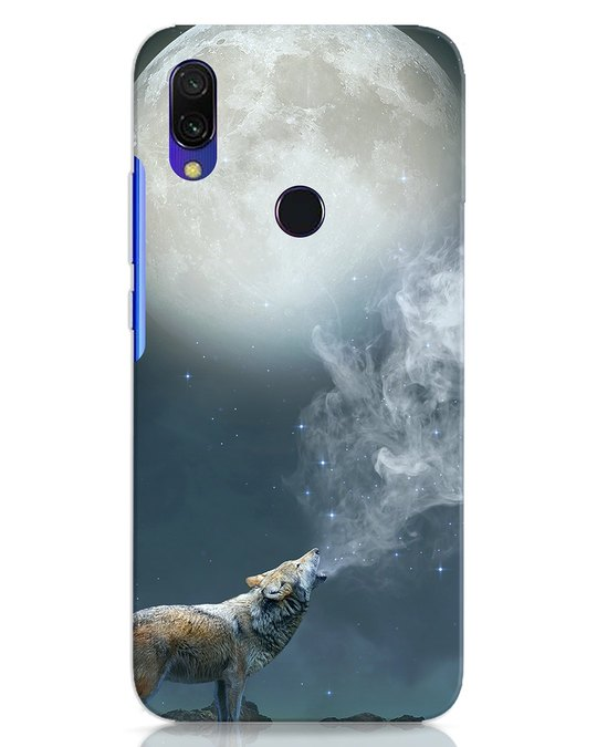 Shop Wolf Moon Xiaomi Redmi Y3 Mobile Cover-Front
