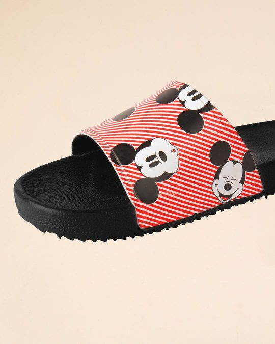 Shop Women All Over Mickey Sliders (DL)
