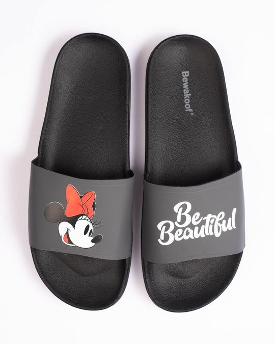 Shop Women Beautiful Minnie Sliders-Back