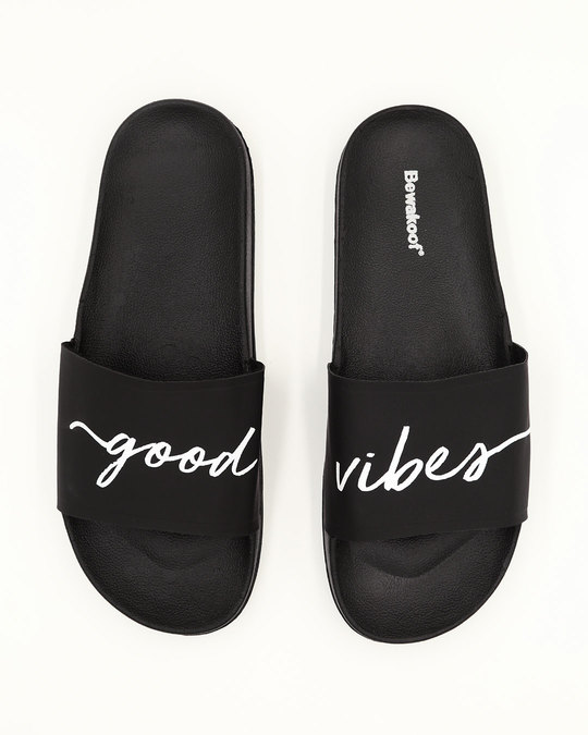 Shop Women Good Vibes Sliders-Back