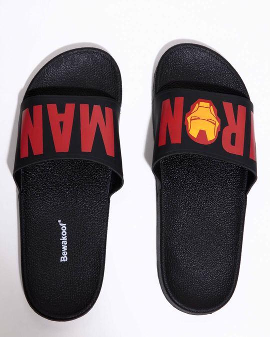 Shop Women Iron Man Sliders (AVL)-Back