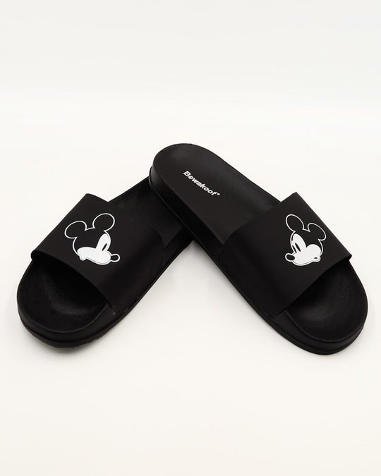 Shop Women Mickey Vs Mickey Sliders-Front