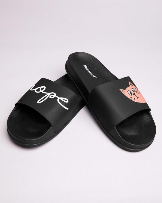 Shop Women Nope Sliders-Front