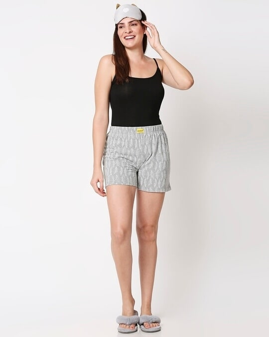 Shop Women's All Over Printed Shorts-Full