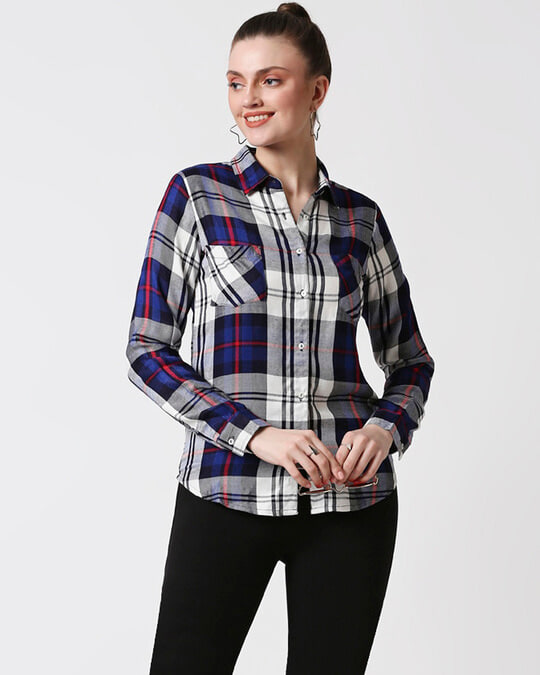 Shop Womens Checks Shirt