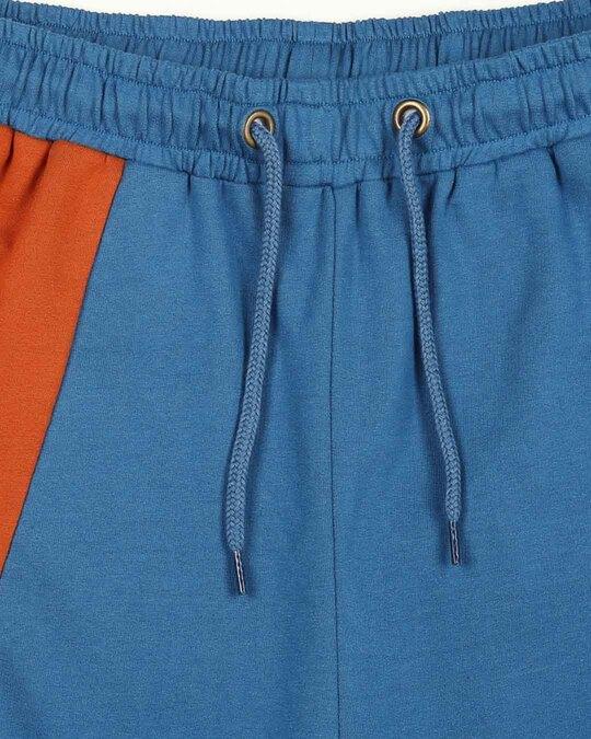 Shop Digi Teal Women's High Waist Colorblock Jogger