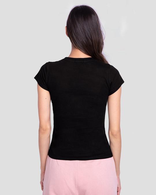 Shop Women's Half Sleeve T-shirt-Combo-Black-Black-Full