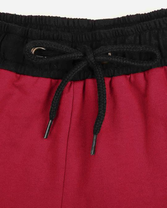Shop Women's Pocket Red Lounge Shorts