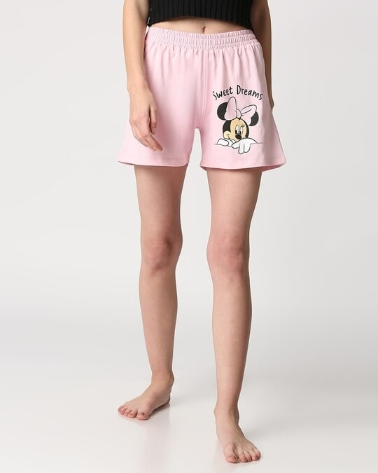 Shop Women's Printed Lounge Shorts-Front