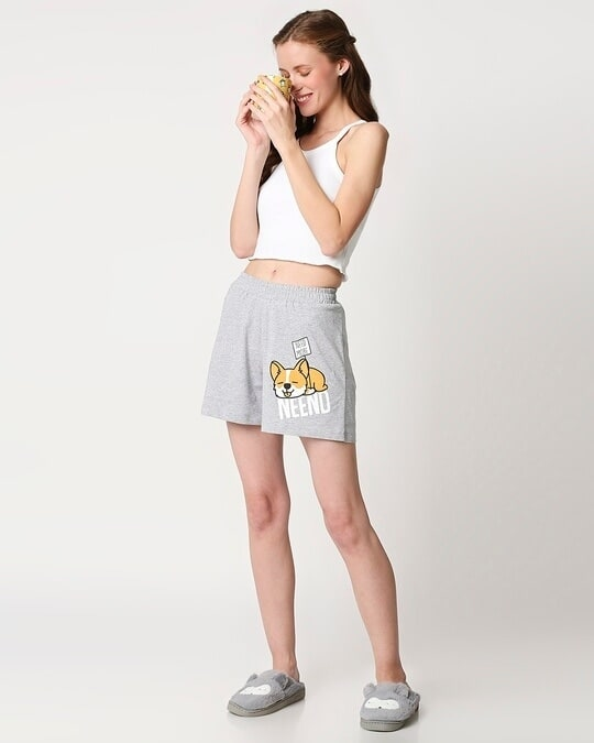 Shop Women's Printed Lounge Shorts-Full
