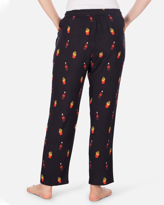 Shop Women's Pyjamas Cola & Fries Black-Design