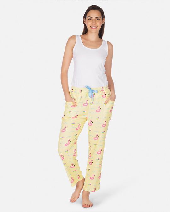 Shop Smugglerz Women's Pyjamas Flamingo Float Pink-Design