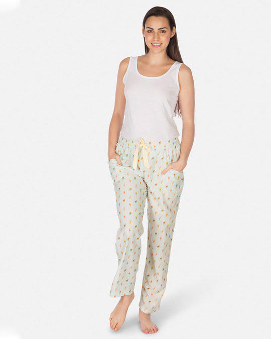 Shop Women's Pyjamas Icecream Lt.Blue-Full
