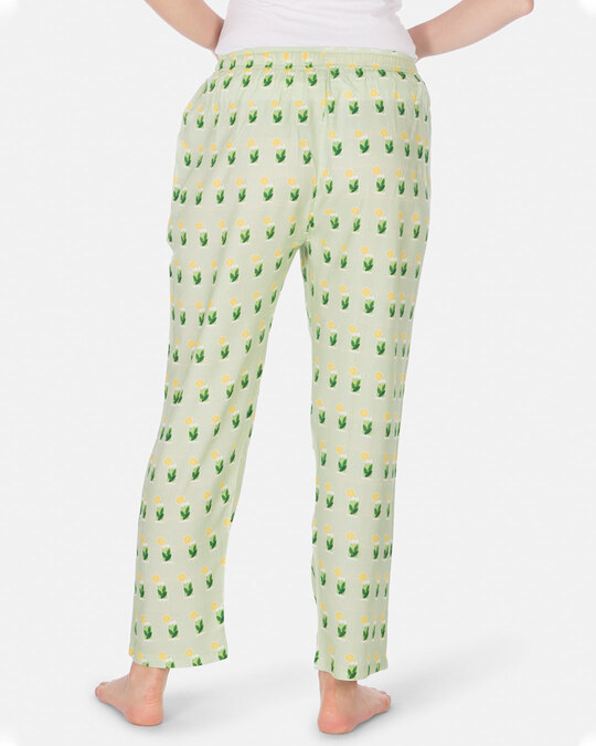 Shop Smugglerz Women's Pyjamas Mohito Green-Design