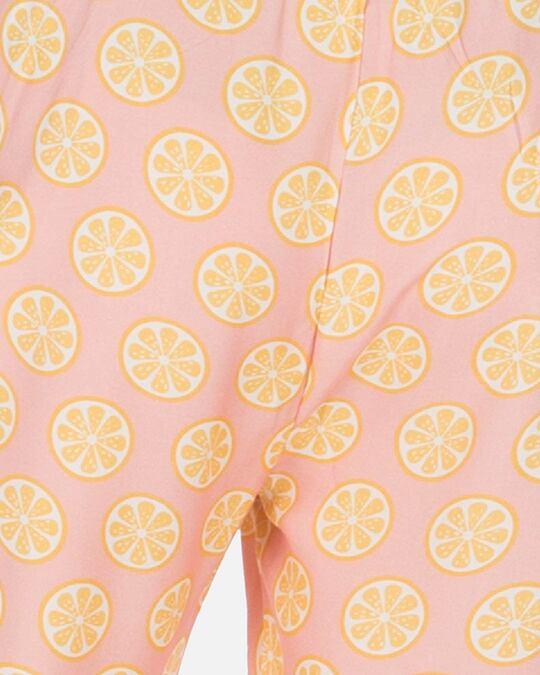 Shop Smugglerz Women's Pyjamas Sicilian Lemon Pink