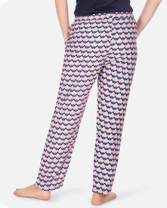 Shop Women's Pyjamas Sicilian Tile Pink-Design