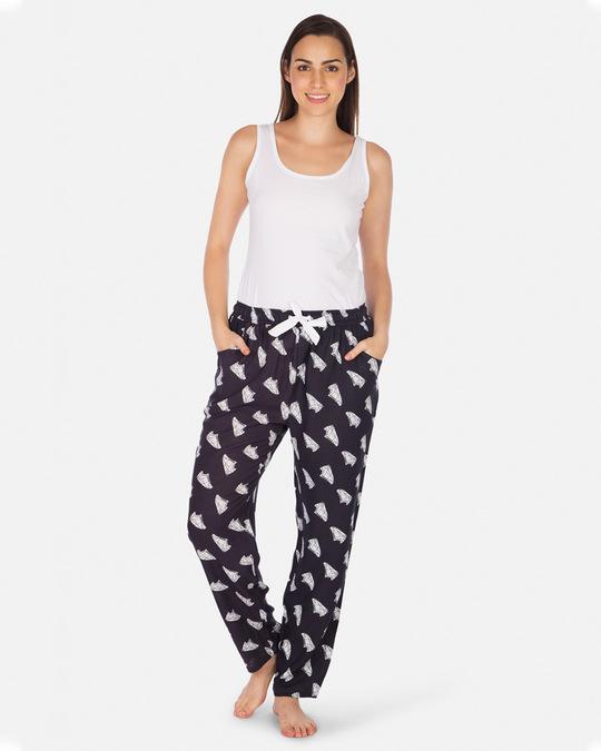 Shop Smugglerz Women's Pyjamas Sneakers Black-Design
